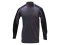 Under Armour Men's ColdGear Wool 1/4 Zip Base Layer Shirt Wool and Polyester Blend Charcoal