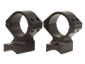 Talley Lightweight 2-Piece Scope Mounts with Integral 1&quot; Rings Kimber 84 (8x 40 Screws) Matte Medium
