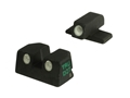 Meprolight Tru-Dot Sight Set Remington 870, 1100, 11-87, 7400, 7600 (Before 2010) Steel Blue Tritium Green