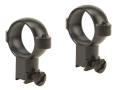 Burris 1&quot; Signature Rings 22 Rimfire and Airgun Matte High
