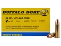 Buffalo Bore Ammunition 38 Special +P 110 Grain Barnes TAC-XP Hollow Point Lead-Free Box of 20