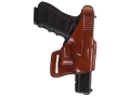 "Bianchi 75 Venom Belt Holster Right Hand S&W J-Frame 2"" Barrel Leather Tan"
