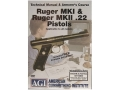 "Product detail of American Gunsmithing Institute (AGI) Technical Manual & Armorer's Course Video ""Ruger Mark 1 & Ruger Mark 2 .22 Pistols"" DVD"