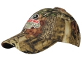 Russell Outdoors 6-Panel Logo Cap Cotton Polyester Blend Mossy Oak Break-Up Infinity Camo