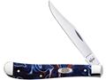 "Case Patriot Slimline Trapper Folding Pocket Knife 3.25"" Clip Point Stainless Steel Blade Kirinite Handle"