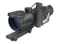 ATN MARS2x-4 4th Generation Night Vision Rifle Scope 2x 52mm Illuminated Red Mil-Dot Reticle with Integral Weaver-Style Mount Matte