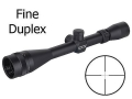 Leupold Mark AR Rifle Scope 6-18x 40mm Adjustable Objective Fine Duplex Reticle Matte