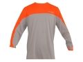 Columbia Sportswear Men's Freezer T-Shirt Long Sleeve Polyester Fossil and Blaze Medium 38-41