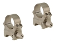 Leupold 1&quot; QRW Quick-Release Weaver-Style Rings Silver High