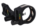 "TRUGLO TSX Pro 3 Light 3-Pin Bow Sight .019"" Pin Diameter Aluminum Black"