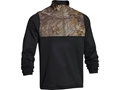 Under Armour Men's 1/4 Zip Caliber Shirt Long Sleeve Polyester