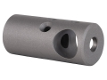 Nordic Components Tactical Compensator Muzzle Brake 1/2&quot;-28 Thread AR-15 Stainless Steel