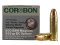 Cor-Bon Hunter Ammunition 500 S&amp;W Magnum 385 Grain Bonded Core Spitzer Box of 12