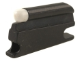 "Product detail of NECG Universal Front Ramp Interchangeable Front Sight .177"" Height .099"" White Bead"