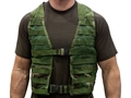 Military Surplus MOLLE Fighting Load Carrier (FLC) Grade 2 Nylon Woodland Camouflage