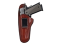 Bianchi 100 Professional Inside the Waistband Holster Left Hand Glock 26, 27, Springfield XD-S  Leather Tan