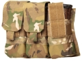 Product detail of Blackhawk S.T.R.I.K.E. MOLLE M4/M16 Magazine Pouch Holds AR-15 30 Round Magazines Nylon