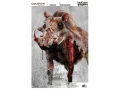 Champion VisiColor Zombie Slasher Tusks Target 12&quot; x 18&quot; Paper Package of 50
