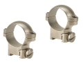 "Leupold 1"" Ring Mounts Sako Silver Medium"