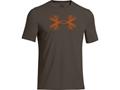 Under Armour Men's Antler Logo T-Shirt Short Sleeve Cotton and Polyester Blend
