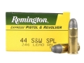 Remington Express Ammunition 44 Special 246 Grain Lead Round Nose Box of 50