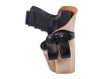 Gould & Goodrich Inside the Waistband Holster Right Hand Glock 19, 23, 32 Leather Tan
