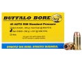 Product detail of Buffalo Bore Ammunition 45 Auto Rim (Not ACP) 200 Grain Jacketed Hollow Point Box of 20