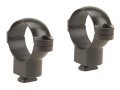 "Leupold 1"" Dual-Dovetail Rings Matte High"