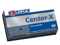 Lapua Center-X Ammunition 22 Long Rifle 40 Grain Lead Round Nose Box of 50
