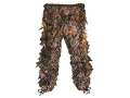 Shannon Men's 3-D Big Leaf Bug Tamer Plus Pants Polyester