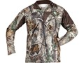 Rocky Men's 1/4 Zip Shirt Long Sleeve Polyester Realtree AP Camo Medium 38-40