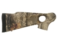Product detail of Thompson Center Encore Pro Hunter Rifle Flex-Tech Thumbhole Buttstock Synthetic Realtree Hardwoods Camo
