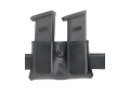 "Product detail of Safariland 079 Double Magazine Pouch 1-3/4"" Snap-On Beretta 8045F, Glock 17, 19, 22, 23, 26, 27, 34, 35, HK USP 9C, 40C, Sig P229, SP2340, S&W Sigma Polymer Fine-Tac Black"