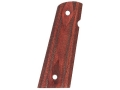 Product detail of Hogue Fancy Hardwood Grips 1911 Government, Commander with Extended Magazine Well Checkered Rosewood Laminate