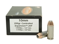 Doubletap Ammunition 10mm Auto 200 Grain Nosler Jacketed Hollow Point Box of 20