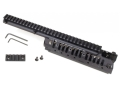 Vltor CASV-ELX Free Float Modular Rail Handguard AR-15 Extended Carbine Length Aluminum Black