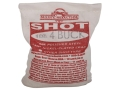 BPI Nickel Plated Lead Shot #4 Buck 8 lb Bag