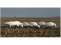 GHG Pro-Grade Full Body Snow Goose Decoys Feeder Pack of 6