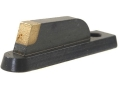 "NECG Masterpiece Ramp Interchangeable Sourdough-Patridge Front Sight .256"" Height Steel Blue"