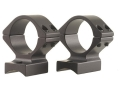 Talley Lightweight 2-Piece Scope Mounts with Integral 1&quot; Rings Cooper 21, 57 Kimber 82, 84 Matte Low