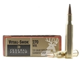 Product detail of Federal Premium Vital-Shok Ammunition 270 Winchester 130 Grain Sierra GameKing Soft Point Boat Tail Box of 20