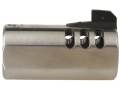 Volquartsen V-Comp Compensator with Front Sight Slab-Side Barrel Ruger Mark II, III, 22/45 Silver