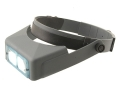 "Product detail of Donegan Optical OptiVISOR Magnifying Headband Visor with 1-3/4X at 14"" Lens Plate"