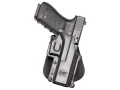 Product detail of Fobus Roto Paddle Holster Right Hand Makarov Polymer Black