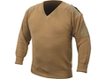 Military Surplus Dutch Commando Sweater V-Neck Grade 1 Tan Large