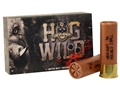 "Hevi-Shot Hog Wild Ammunition 12 Gauge 3"" Two 625 Caliber Round Balls Lead-Free Box of 5"
