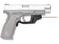 Crimson Trace Laserguard Springfield XD, XDM Polymer Black