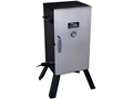 "Masterbuilt 30"" Analog Electric Smoker with Cover Black and Stainless Steel"
