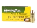 Remington Express Ammunition 45 ACP 185 Grain Jacketed Hollow Point Box of 50