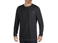Dickies Men's Pocket T-Shirt Long Sleeve Polyester and Cotton Blend